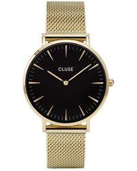 Cluse La Boheme Horloge Van Roestvrijstaal Cw0101201014 - Metallic