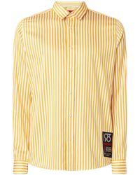 BOSS by Hugo Boss Emero Relaxed Fit Overhemd Met Streepdessin En Logopatch - Meerkleurig