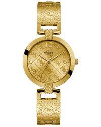 Guess G Luxe Horloge W1228l2 - Metallic