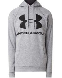Under Armour Hoodie Rival Fleece Sportstyle - Grijs