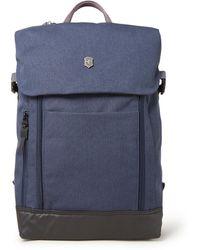 Victorinox Deluxe Rugzak Met 15 Inch Laptopvak - Blauw