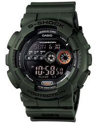 G-Shock Horloge Gd-100ms-3er - Zwart