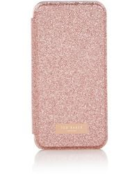 Ted Baker Glitsie Telefoonhoes Voor Iphone 6 / 6s / 7 - Roze