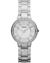 Fossil Horloge Virginia Es3282 - Metallic