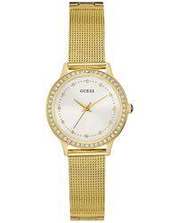 Guess Chelsea Horloge W0647l7 - Metallic