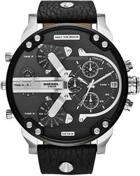 DIESEL Horloge Mr. Daddy 2.0 Dz7313 - Zwart
