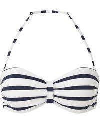 Barts Misty Push-up Bandeau Bikinitop - Wit