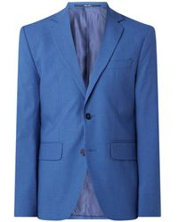 Mango Brasilia Slim Fit Colbert - Blauw