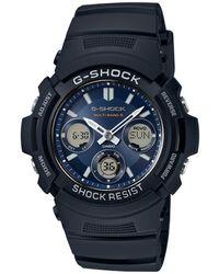 G-Shock Horloge Awg-m100sb-2aer - Zwart