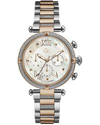 Gc Watches Cable Chic Horloge Y16002l1mf - Metallic