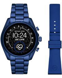 Michael Kors Bradshaw Gen 5 Display Smartwatch Mkt5102 - Blauw