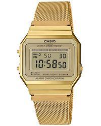 G-Shock Vintage Horloge A700wemg-9aef - Metallic