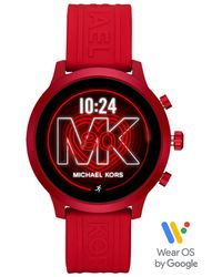 Michael Kors Mk Go Display Smartwatch Gen 4s Mkt5073 - Rood