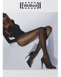 Wolford Velvet De Luxe Panty In 50 Denier - Meerkleurig