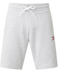 Tommy Hilfiger Sweatshirts Met Bio Cool Comfort - Grijs