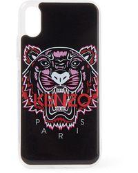 KENZO Tiger Telefoonhoes Voor Iphone X / Xs - Zwart