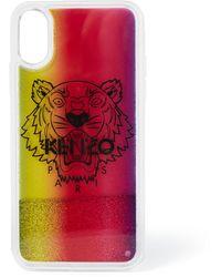 KENZO Tiger Telefoonhoes Voor Iphone X / Xs - Roze