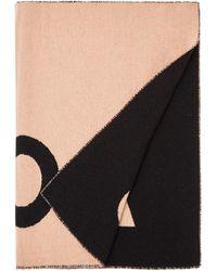 Acne Studios Toronty Sjaal In Wolblend 220 X 50 Cm - Zwart