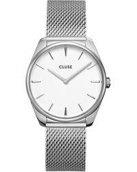 Cluse Féroce Mesh Horloge Cw0101212001 - Metallic