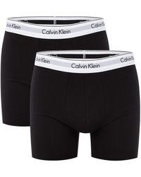 Calvin Klein 2-pack Boxer Brief 1087 Boxershorts - Zwart