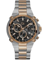 Gc Watches Cable Force Horloge Y24002g2mf - Metallic
