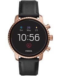 Fossil Q Explorist Smartwatch Ftw4017 - Zwart