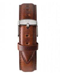 Daniel Wellington 0807dw St Mawes Horlogeband 18mm - Metallic