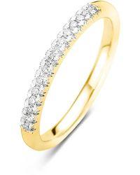 Diamond Point Gouden Ring 0-14 Ct Diamant Ensemble - Metallic