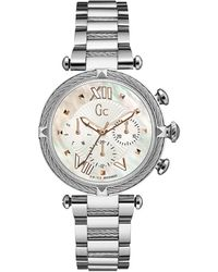 Gc Watches Cablechic Horloge Y16001l1mf - Metallic