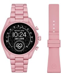 Michael Kors Bradshaw Gen 5 Display Smartwatch Mkt5098 - Roze