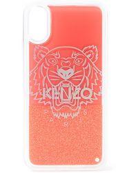 KENZO Tiger Telefoonhoes Voor Iphone X / Xs - Rood