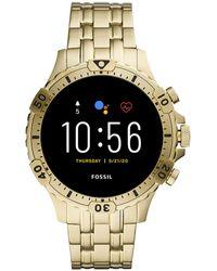 Fossil Garrett Gen 5 Display Smartwatch Ftw4039 - Metallic