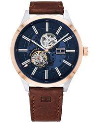 Tommy Hilfiger Horloge Th1791642 - Bruin