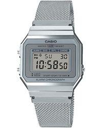G-Shock Vintage Horloge A700wem-7aef - Metallic
