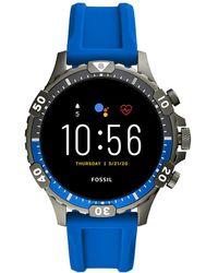 Fossil Garrett Gen 5 Display Smartwatch Ftw4042 - Zwart
