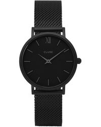 Cluse Horloge Minuit Cl30011 - Zwart