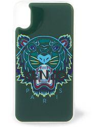 KENZO Tiger Telefoonhoes Voor Iphone X / Xs - Groen