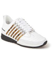 DSquared² 251 Sneaker Van Kalfsleer - Wit