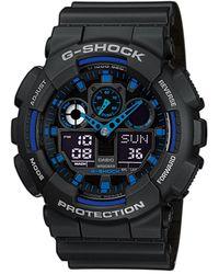 G-Shock Horloge Ga-100-1a2er - Zwart