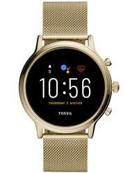 Fossil Julianna Gen 5 Display Smartwatch Ftw6064 - Metallic
