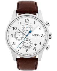 BOSS Horloge Navigator Hb1513495 - Metallic