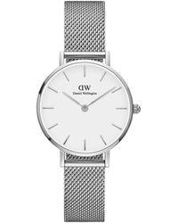 Daniel Wellington Petite Sterling Horloge Dw00100220 - Metallic