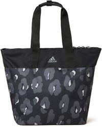 adidas Sporttas Met Dessin En Logo - Grijs