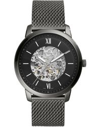 Fossil Neutra Automatic Horloge Me3185 - Zwart