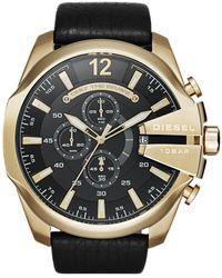 DIESEL Horloge Mega Chief Dz4344 - Metallic