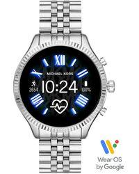 Michael Kors Lexington Display Smartwatch Gen 5 Mkt5077 - Metallic