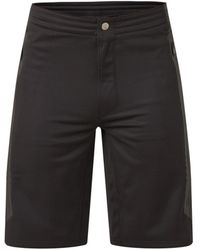 Givenchy Straight Fit Sweatshorts Met Ritsdetail - Zwart