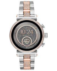 Michael Kors Sofie Smartwatch Mkt5064 - Metallic