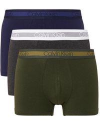 Calvin Klein 3-pack Trunk Boxershorts - Meerkleurig