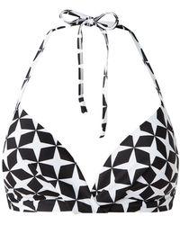 Barts Lola Voorgevormde Triangel Bikinitop - Zwart
